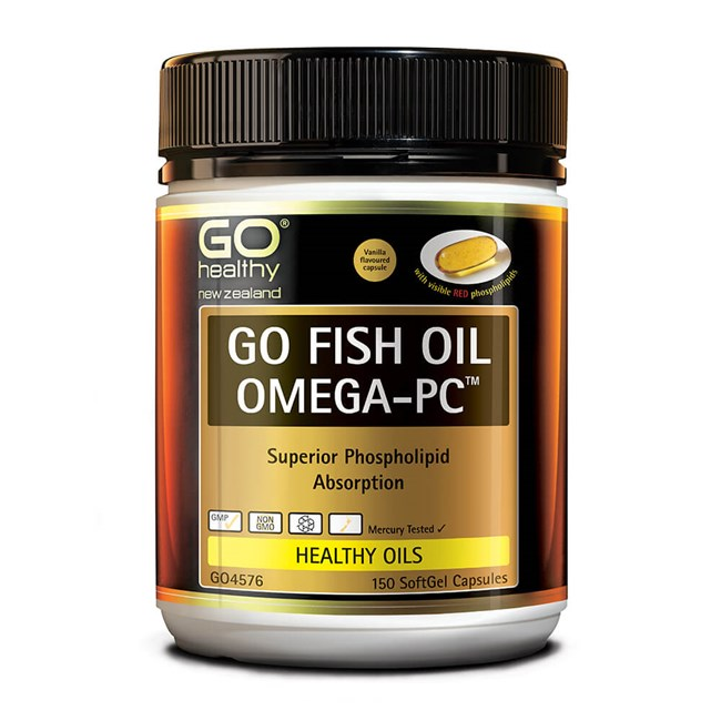 GO Fish Oil Omega-PC™