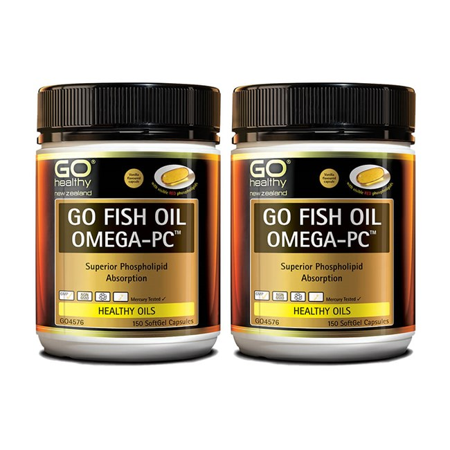 GO Fish Oil Omega-PC™ (Twin Pack)