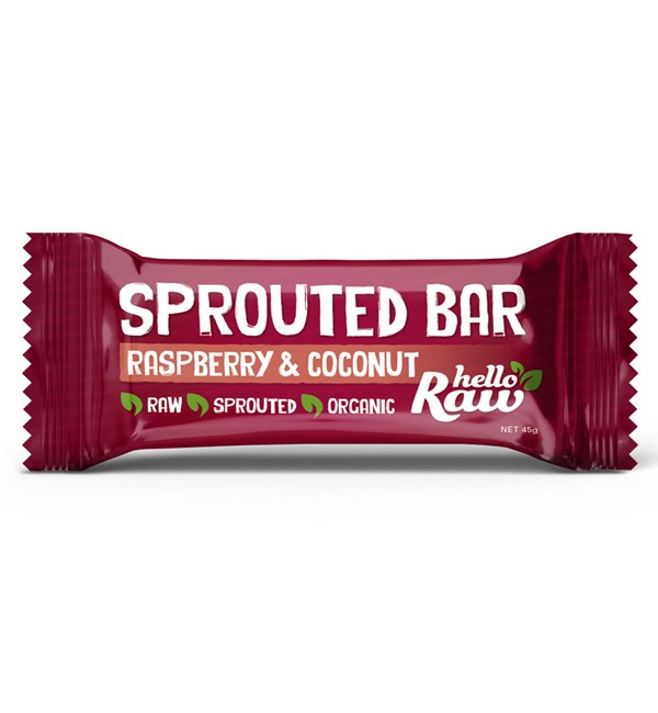 Sprouted Bar - Raspberry and Coconut