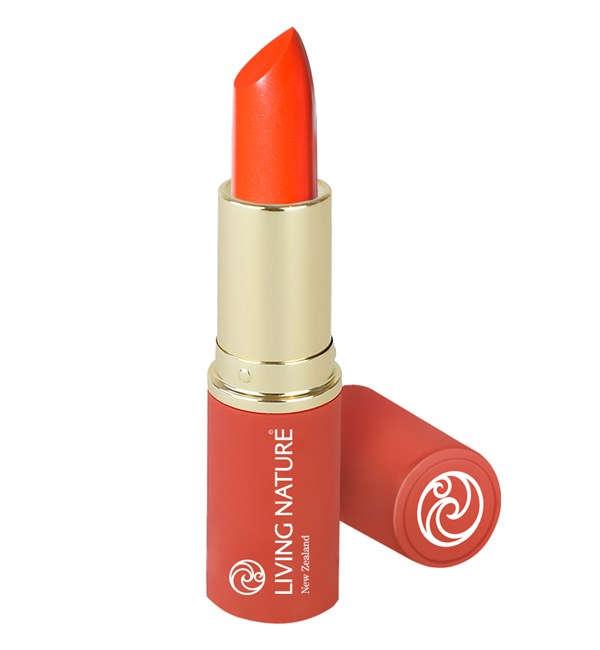 Natural Lipstick - Electric Coral