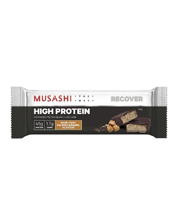 High Protein Bar Dark Choc Salted Caramel