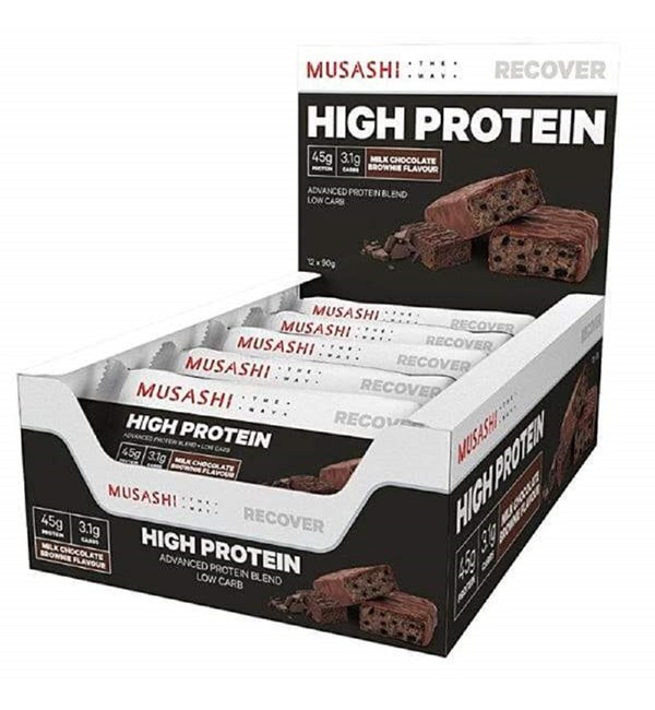 High Protein Bar Milk Choc Brownie