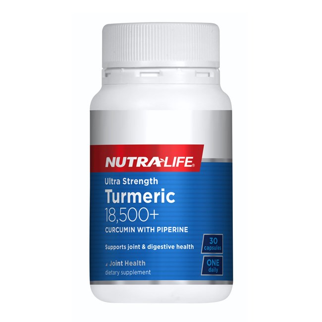 Ultra Strength Turmeric 18,500+