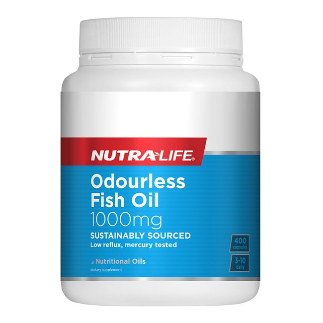 Odourless Fish Oil 1000mg