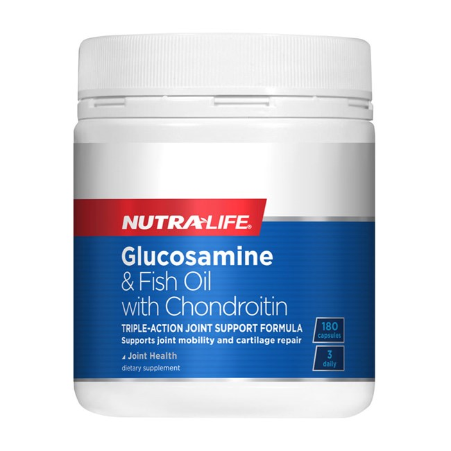 Glucosamine and Fish Oil with Chondroitin