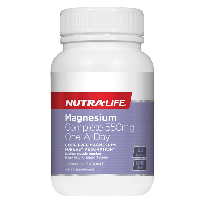 Magnesium Complete 550mg One-A-Day