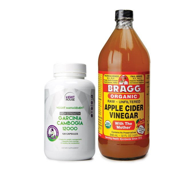 Lighthouse Apple Cider Vinegar Garcinia Cambogia Health 2000