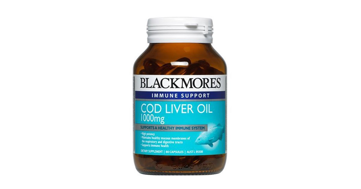 Blackmores cod liver oil health 2000 for Fish oil weight gain