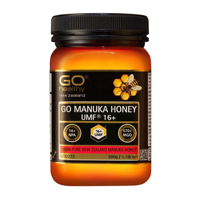 GO Manuka Honey UMF 16+