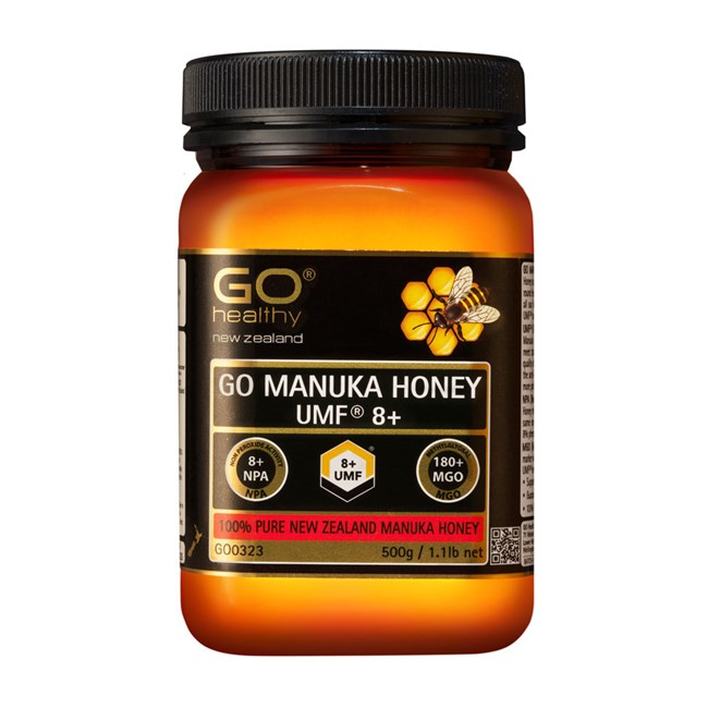 GO Manuka Honey UMF 8+