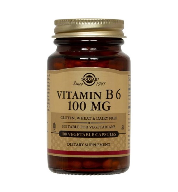 Vitamin B6 (Pyridoxine) 100mg