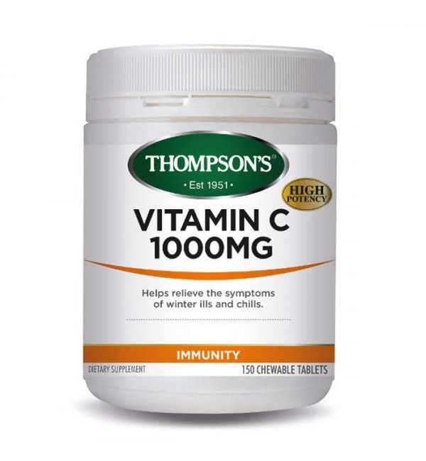 Vitamin C 1000mg Chewables