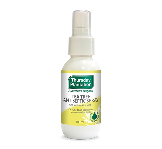 Tea Tree Antiseptic Spray with Aloe Vera