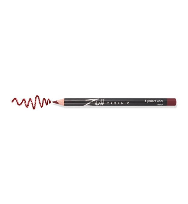 Certified Organic Lip Liner Pencil - Berry