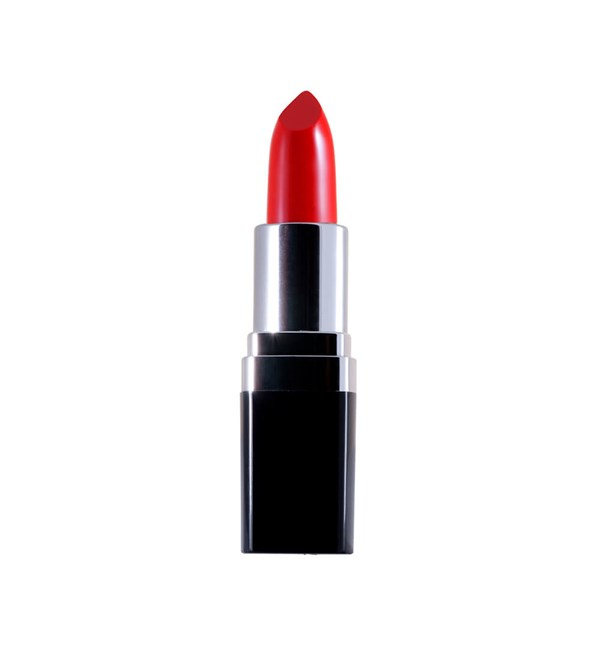 Certified Organic Flora Lipstick - Coral Red