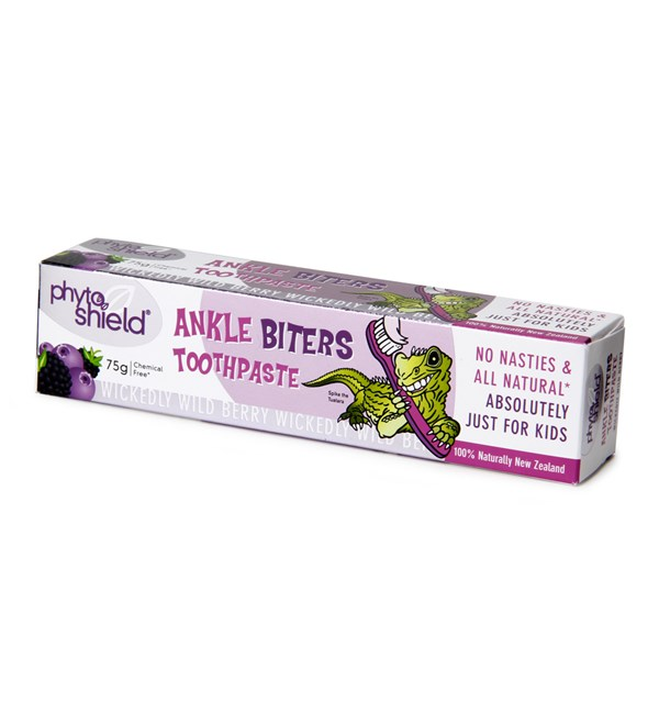 Phyto Shield Ankle Biters Toothpaste (Berry)