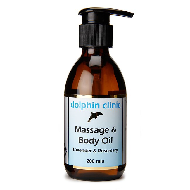 Massage & Body Oil - Lavender & Rosemary