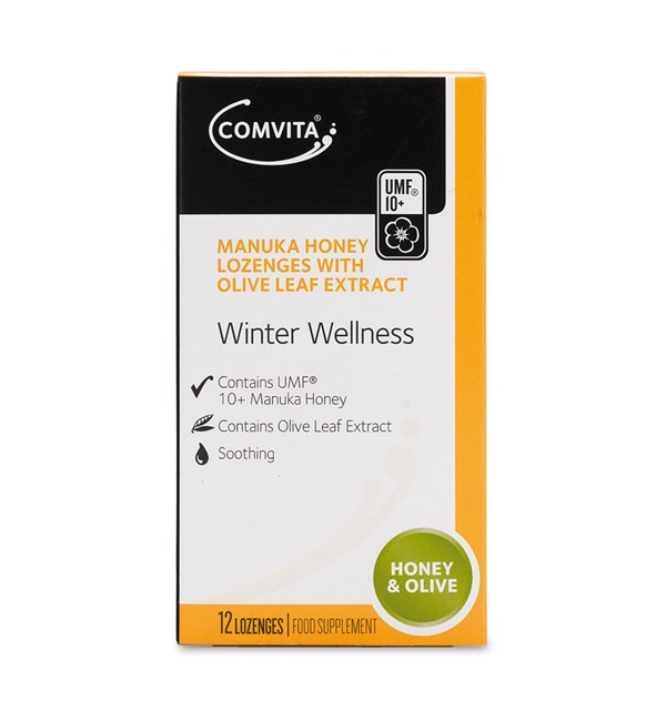 Manuka Honey Lozenges - Honey & Olive