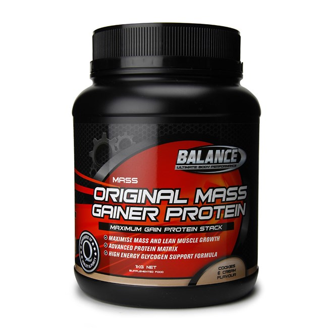 Original Mass Gainer Protein Cookies & Cream