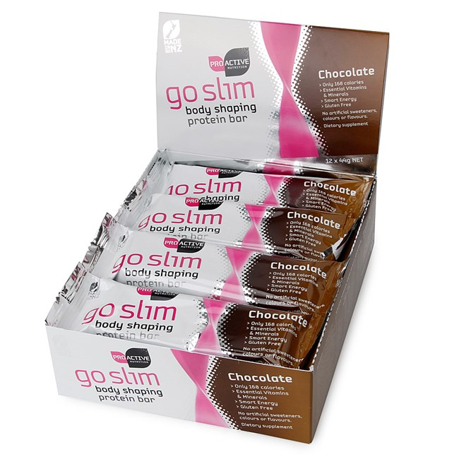 Go Slim Protein Bars-Chocolate