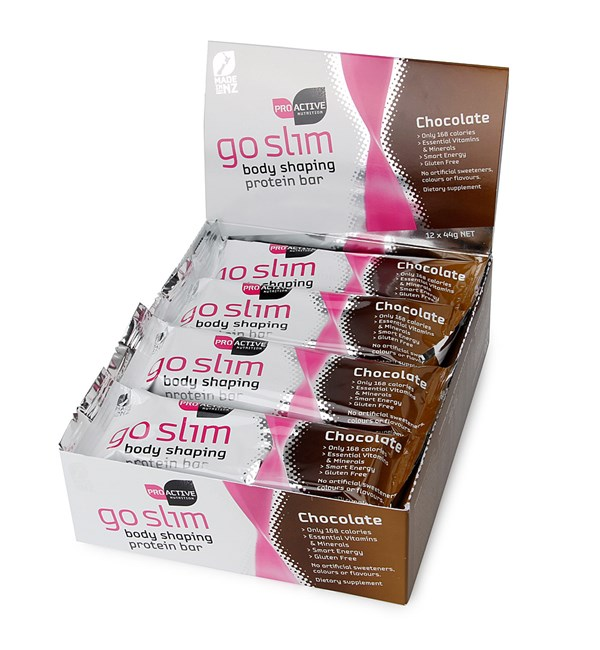 Go Slim Protein Bars - Chocolate