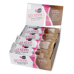 Go Slim Protein Bars-Cookies and Cream
