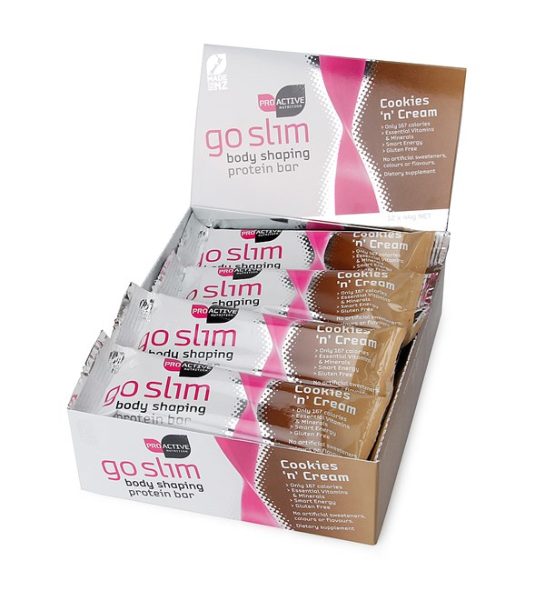 Go Slim Protein Bars - Cookies and Cream