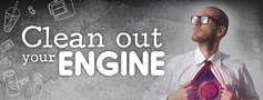 Clean out your engine
